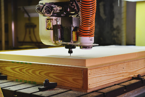 Frezowanie drewna